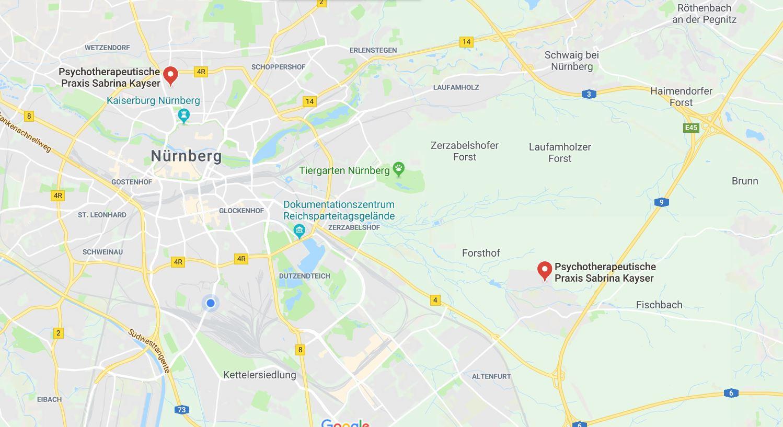 Praxis Standorte Sabrina Kayser-Laubenstein